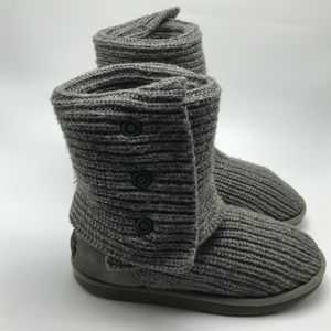 Ugg Classic Cardy Boots Gray Size 8